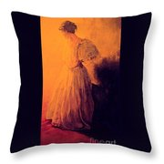 She Danced Throw Pillow