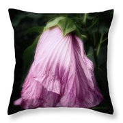 She Had Danced For The Last Time Throw Pillow