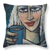 She Had Some Dreams...  Throw Pillow