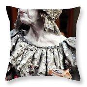 She Of Jackson Square Throw Pillow