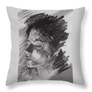 She Throw Pillow