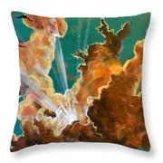 She Soars Throw Pillow