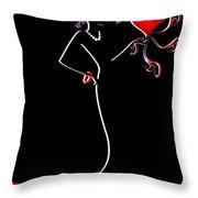 She Throw Pillow by Svetlana Sewell