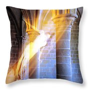 She Waits There Throw Pillow