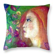 She Was Throw Pillow