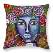 She Who Restores Wellness Throw Pillow