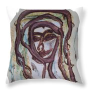 She Yes, Elle Oui, Throw Pillow