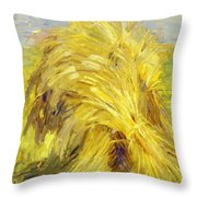 Sheaf Of Grain 1907 Throw Pillow
