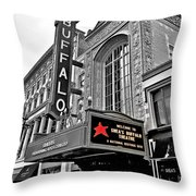 Shea's Buffalo Theater Throw Pillow