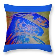 I Can Show You The Sheep World  Throw Pillow