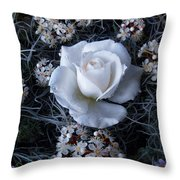Sheer Delight Of Being Throw Pillow