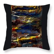 Sheet Metal  Throw Pillow