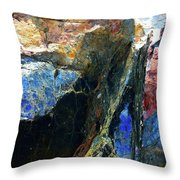 Sheets Of Mica  Throw Pillow