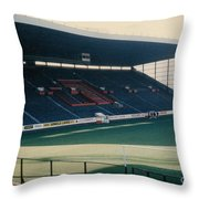 Sheffield United - Bramall Lane - South Stand 1 - 1970s Throw Pillow