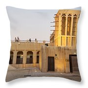 Sheikh Saeed House And Museum Throw Pillow