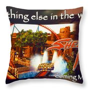 Sheikra Poster Add One Throw Pillow