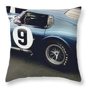 Shelby Cobra Daytona Coupe Throw Pillow