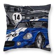 Shelby Daytona Throw Pillow