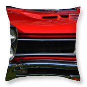 Red Gto Throw Pillow