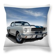 Shelby Mustang Gt350 Throw Pillow