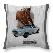 Shelby Gt350 Throw Pillow