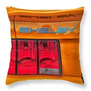 Shelby Tail Light Throw Pillow
