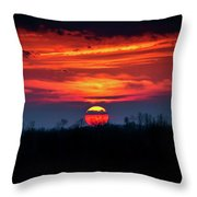Shelby's Sunset Throw Pillow