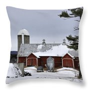 Sheldon Barn Throw Pillow