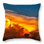 Shelf Cloud 01 Throw Pillow