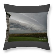 Shelf Cloud 16 Throw Pillow