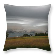 Shelf Cloud 6 Throw Pillow