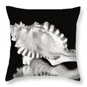 Shell And Reflection Throw Pillow