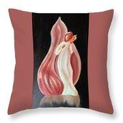 Shell Angel Throw Pillow