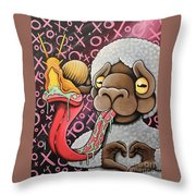 Shell Shocked Throw Pillow