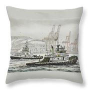 Shelly And Wedell Foss Throw Pillow