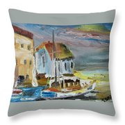 Shelter Bay Throw Pillow