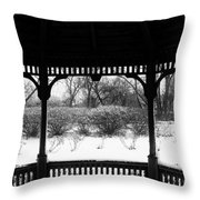 Shelter From The Storm       Landscape     Indiana Throw Pillow