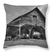 Shelter From The Storm 2 Wrayswood Barn Throw Pillow
