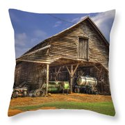 Shelter From The Storm Wrayswood Barn Throw Pillow