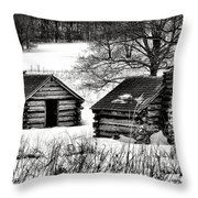 Shelter The Soldiery  Throw Pillow