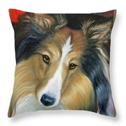 Sheltie - Collie Throw Pillow