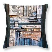 Shelved - 5 Throw Pillow