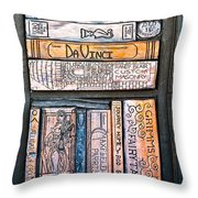 Shelved - 6 Throw Pillow