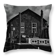 Shem Creek Heritage Throw Pillow