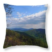 Shenandoah Skies Throw Pillow