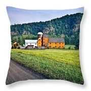 Shenandoah Valley Farm Throw Pillow