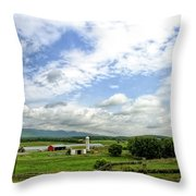 Shenandoah Valley West Virginia Scenic Series Throw Pillow