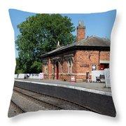 Shenton Station Throw Pillow
