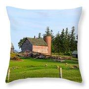 Shepard Farm Throw Pillow