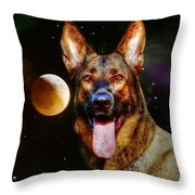 Shepards Moon Throw Pillow
